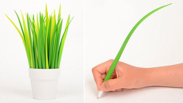Ручка-травинка.