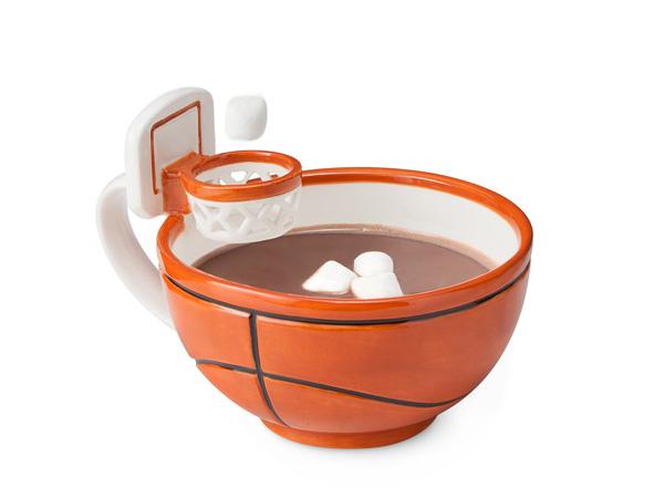 Кружка с баскетбольным кольцом. Mug with a Hoop.