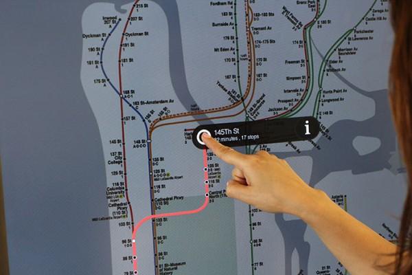 On the Go! Kiosks - интерактивные аппараты для навигации в метрополитене Нью-Йорка