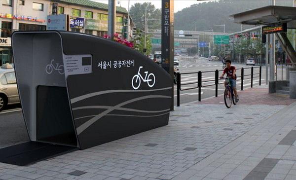 Станции метро с прокатом велосипедов в Сеуле