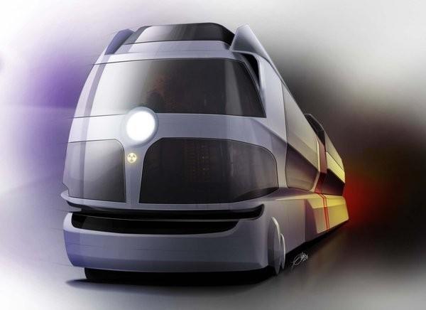 Атомный поезд метро от Росатома