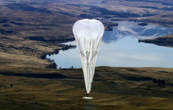 Беспроводной Интернет на воздушных шарах от Google