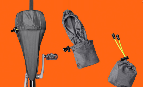 Ridinghood - концепт защиты сиденья от влаги.