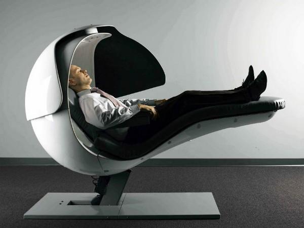 EnergyPod – кресло для сна на работе