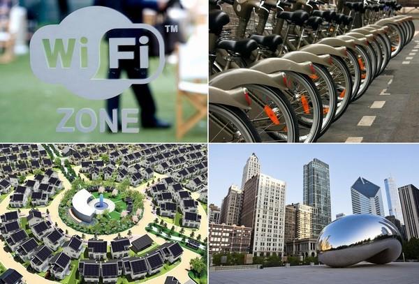 Современные технологии, внедренные в масштабах города