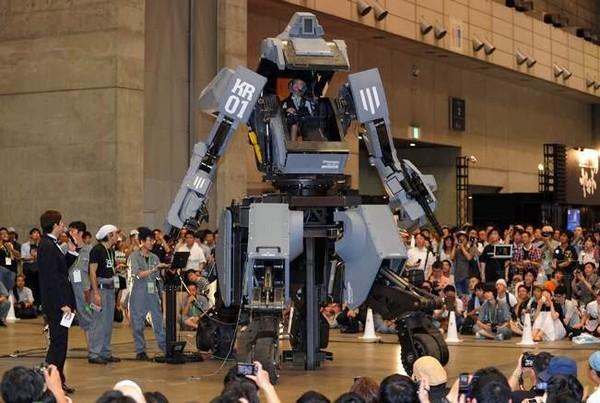 Kuratas Battle Mech – боевой робот-трансформер из Японии