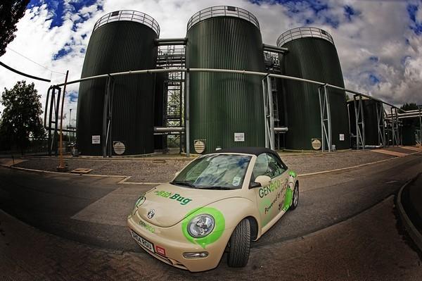 VW Bio-Bug - автомобиль, который ездит на человеческих желудочных газах