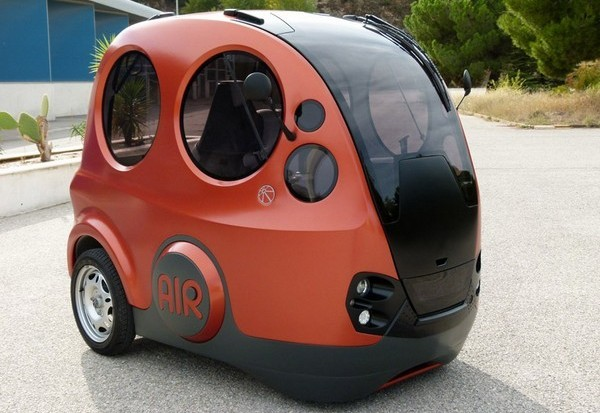 Tata AIRPOD - пневматический автомобиль на сжатом воздухе