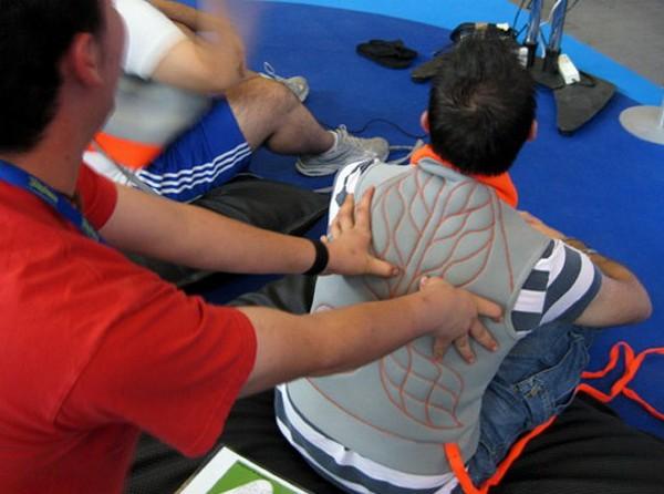 Massage Me – игровой контроллер для массажа спины