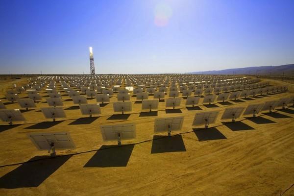 Ivanpah - солнечная электростанция в пустыне Мохаве