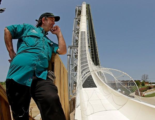 Verruckt – самая длинная в мире водная горка