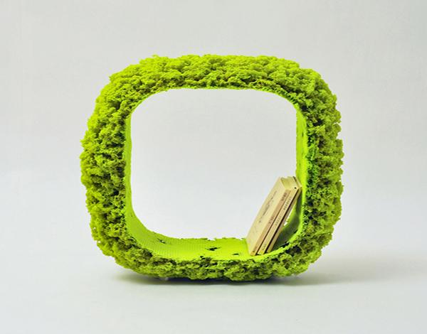 Оригинальная мебель из полиэфирного волокна.