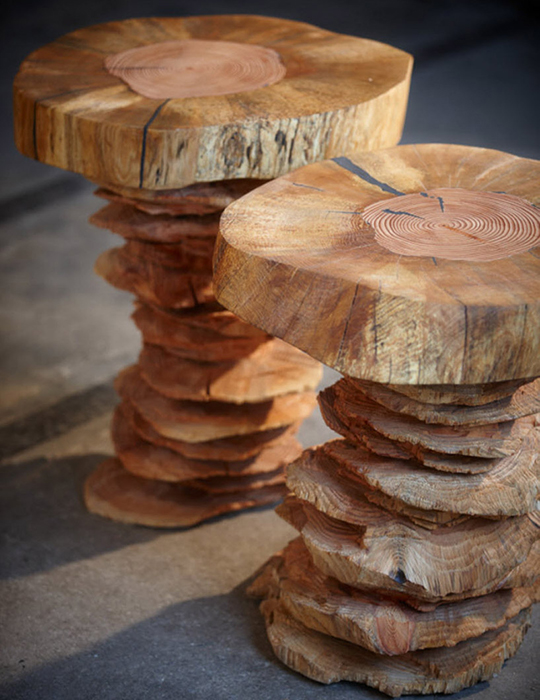 Оригинальный стол от Bente Hovendal.