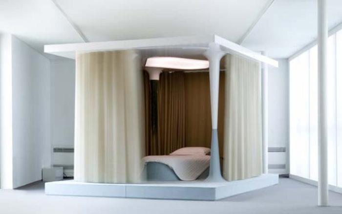 Кровать-терапия от Mathieu Lehanneur.