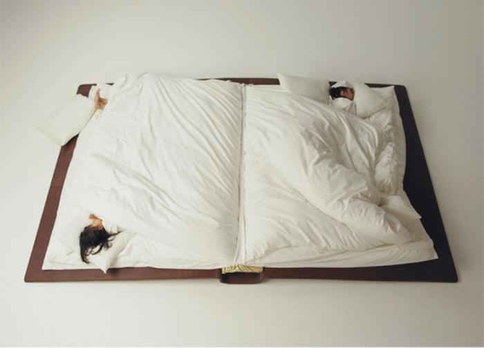 Кровать-книга от Yusuke Suzuki.