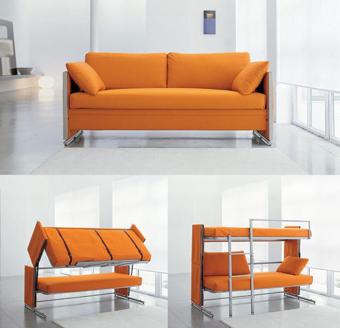Двухъярусная кровать Doc Sofa Bunk Bed.