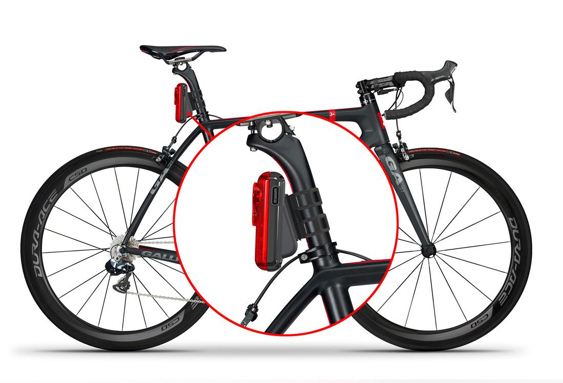 Fly6: HD-видеорегистратор и светодиодный фонарь для велосипеда в одном корпусе