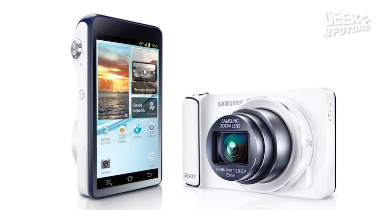 Так вот выглядел Samsung Galaxy Camera…