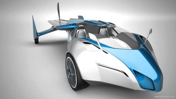 AeroMobil – самый настоящий летающий автомобиль