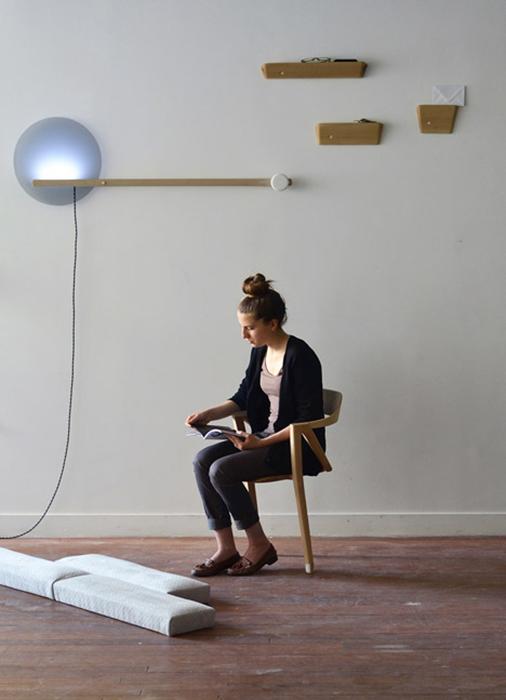 Стул-тренажер для людей с сидячим образом жизни.