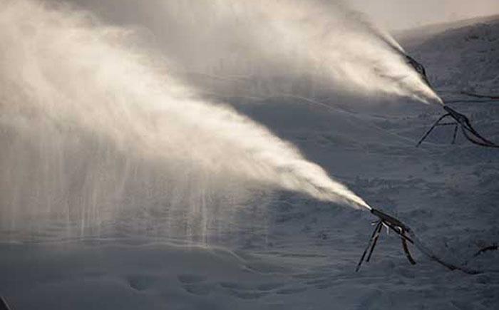 Искусственный снег  из сточных вод
