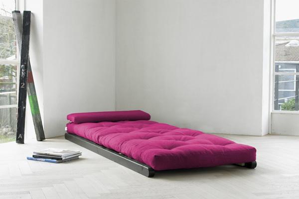 Оригинальный шезлонг. превращающийся в кровать.