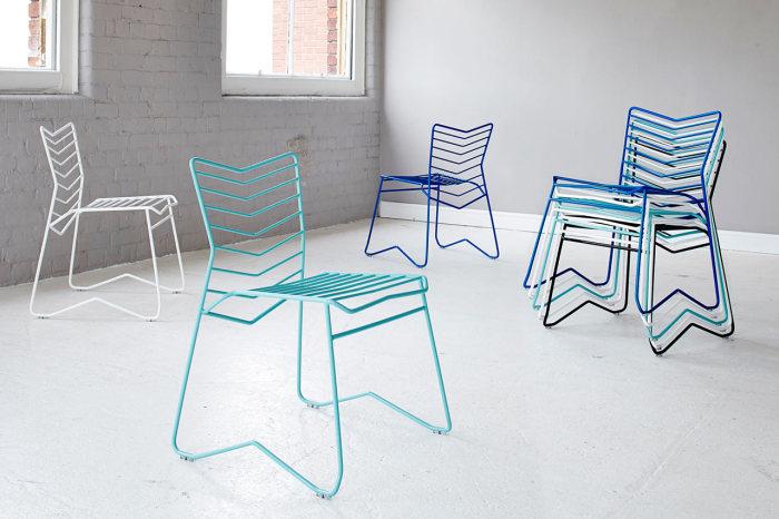 Простой и в тоже время стильный предмет мебели от Даниэля Лау (Daniel Lau).