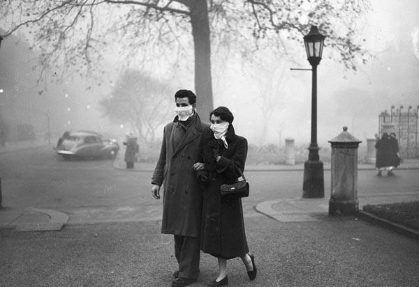 Большой смог (декабрь, 1952)