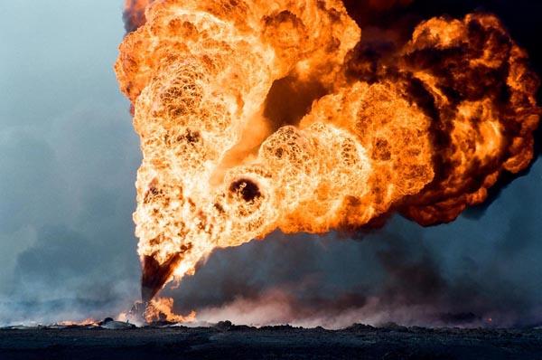 Нефтяные пожары в Кувейте (январь/февраль 1991)