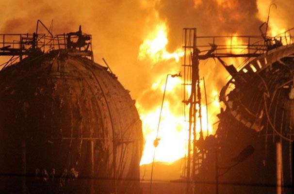 Взрыв на химическом заводе Цзылинь