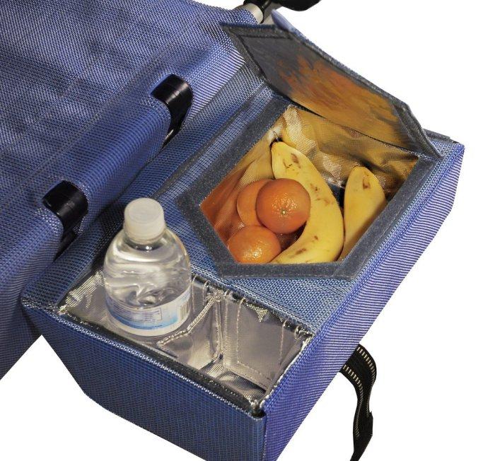В LoungePac два контейнера, сохраняющих температуру.