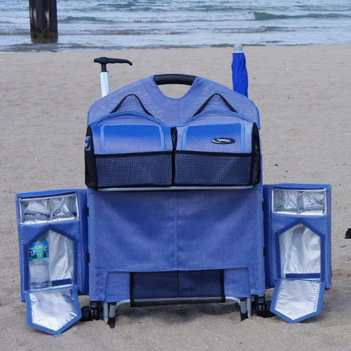 Шезлонг LoungePac - идеальный вариант для комфортного отдыха на пляже.