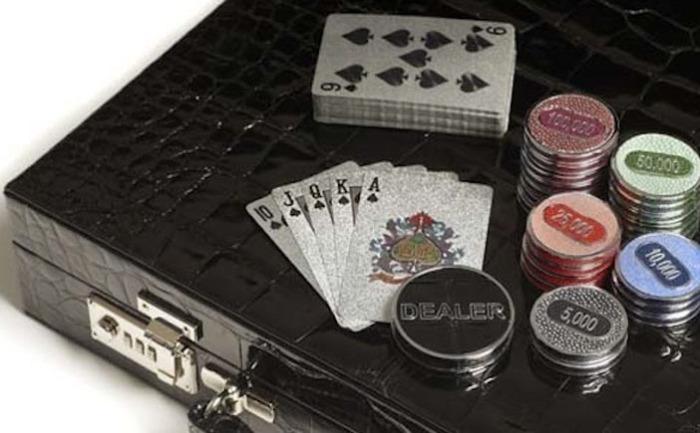 Набор для покера от Деффри Паркера