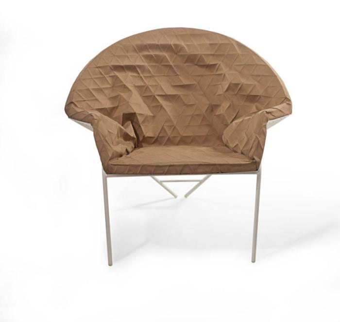 """Оригинальное кресло от студии """"Studio Mikabarr"""" и дизайн-студии """"Producks""""."""
