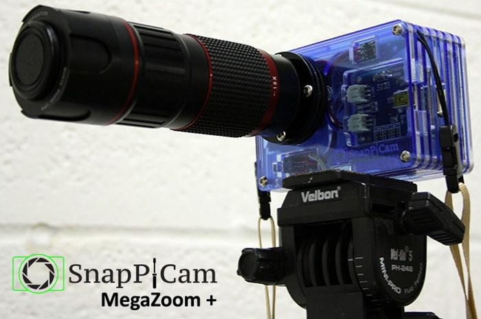 SnapPiCam – камера-конструктор на основе компьютера Raspberry Pi