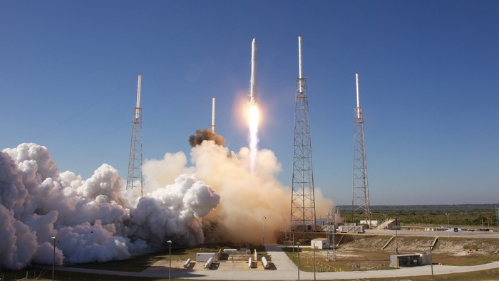 Частный космодром от компании SpaceX