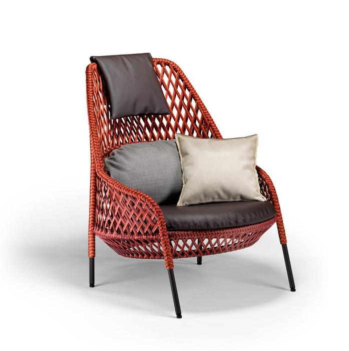Плетеная мебель для дома от Стивена Баркса (Stephen Burks).