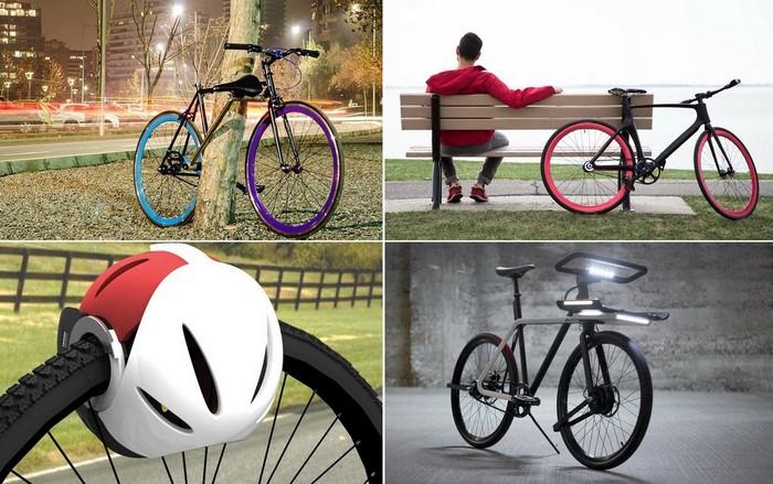 Необычные средства защиты велосипеда от угона