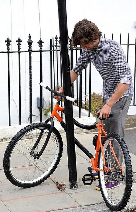 Противоугонный велосипед Bendy Bicycle