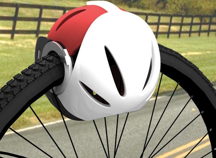Head-Lock – шлем против угона велосипедов