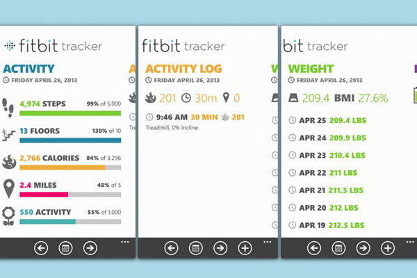 Фитбит (Fitbit) – шагомер