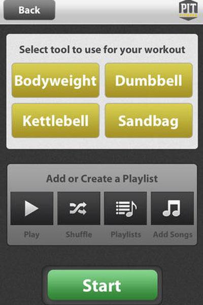 Фитнес-приложение PIT Fitness