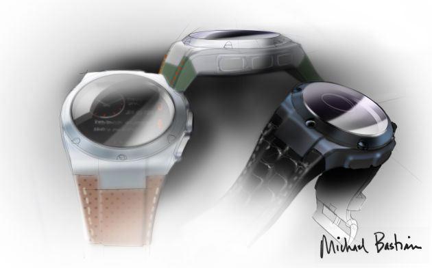 Над внешним видом часов работают Gilt и дизайнер Майкл Бастиан
