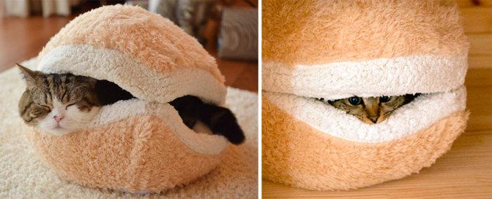 Подушка для кота от Petz Route.