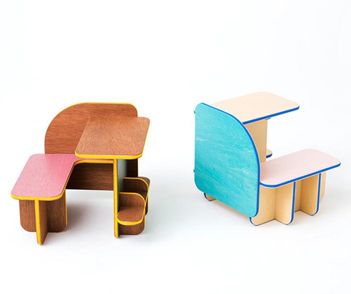 Удобная деревянная мебель.
