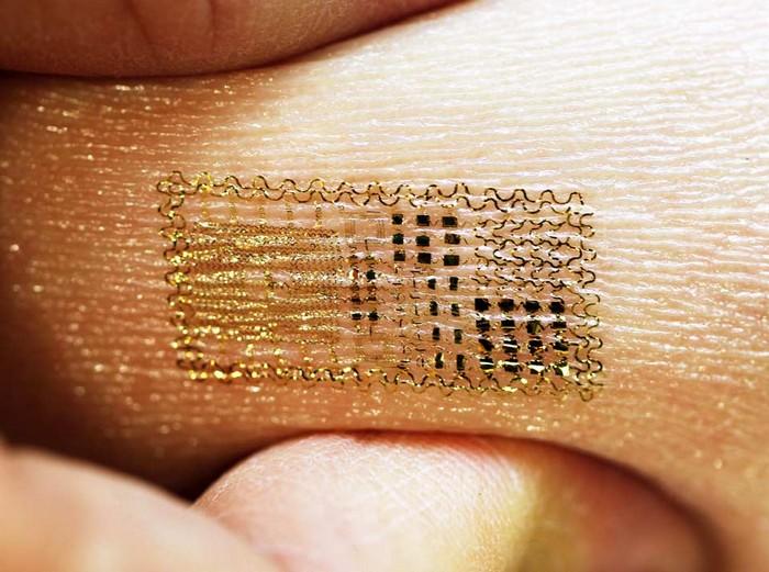 Epidermal Electronics – цифровые татутровки для диагностики здоровья