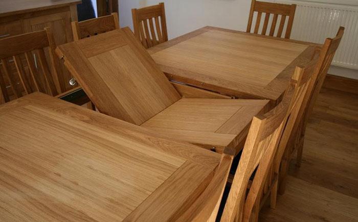Раздвижной обеденный стол – секрет удачного гостеприимства