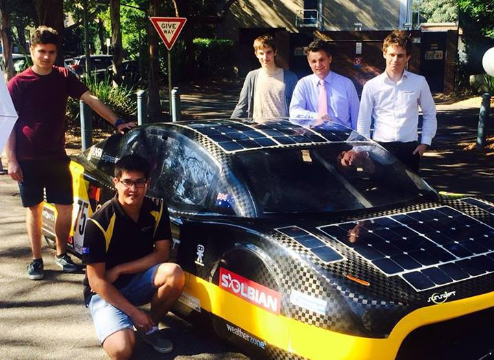 Электрокар SunSwift eVe проехал 500 километров за 4 часа 40 минут