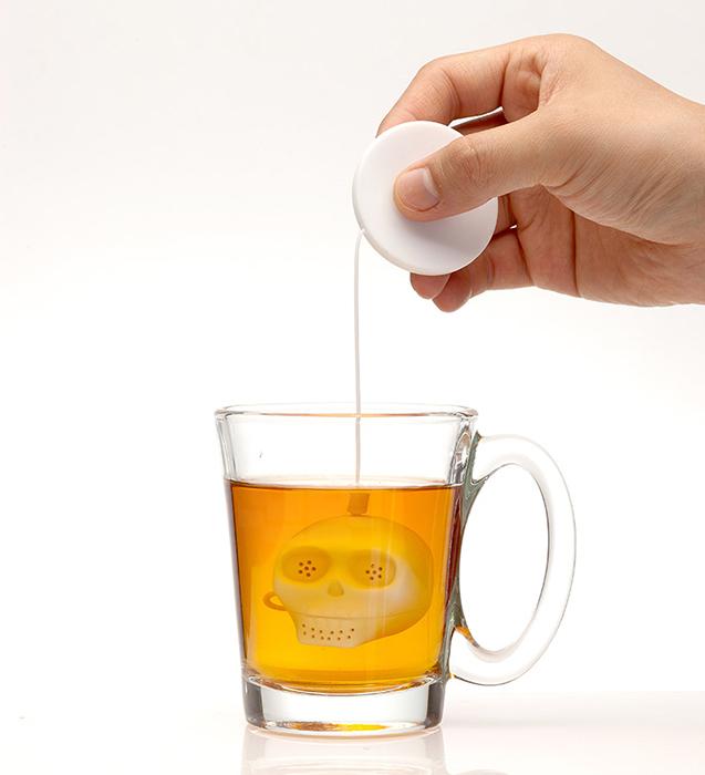 Забавные предметы для заваривания чая.