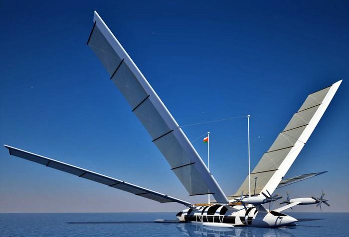 Octuri Yacht – яхта, которая превращается в самолет